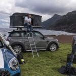 Lều cắm trại trên nóc xe MINI Countryman