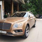 Xe siêu sang Bentley Bentayga ở Thái Nguyên ra biển số