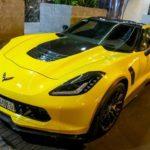 Siêu xe Chevrolet Corvette Z06 của đại gia Sài Gòn tăng tốc ấn tượng