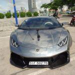 Vẻ đẹp siêu xe Lamborghini Huracan độ của đại gia Việt