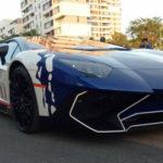 Mãn nhãn siêu xe Lamborghini Aventador của Minh nhựa tăng tốc nẹt pô