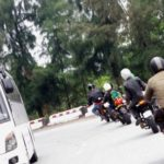Ngắm siêu xe mô tô ở Lào Cai nẹt pô tóe lửa