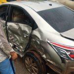 Tai nạn ở Quảng Ninh 3 xe ô tô hư hỏng nặng