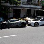 5 siêu xe của đại gia Đà Nẵng đến du lịch ở Huế