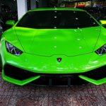 Ngắm siêu xe Lamborghini Huracan tăng tốc nẹt pô ở Quảng Bình
