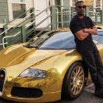Jamie Foxx mạ chrome vàng cho siêu xe Bugatti
