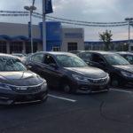 30 xe ô tô Honda bị trộm đột nhập vào đại lý tháo hết bánh xe