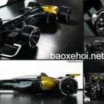 Siêu xe Renault R.S 2027 Vision xe đua F1 đích thực