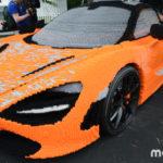Chi tiết siêu xe McLaren 720S bản đồ chơi Lego mới ra mắt