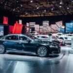 Cận cảnh biệt thự di động Audi A8 2018