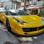 Tận mắt quá trình độ siêu xe Ferrari 458 Italia Liberty Walk ở Việt Nam