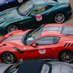 70 siêu xe Ferrari xuất hiện liền lúc ở London Anh