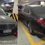 Maybach S600 giá chục tỷ bị phủ bụi ở hầm xe