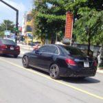 Mercedes E class độ lô gô Maybach xuất hiện trên đường gây chú ý