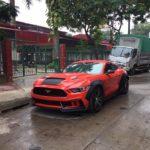Xe Ford Mustang 2,8 tỷ đồng hiếm nhất Lào Cai đình đám thế nào ?
