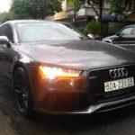 Audi A7 giá 4 tỷ đồng độ body kit RS7 ở Đồng Nai
