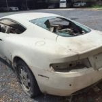Aston martin DB9 bị tai nạn ở Hà Nội vẫn trong tình trạng sắt vụn