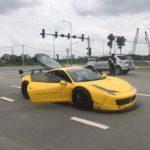 Siêu xe Ferrari 458 Italia độ Liberty Walk ở Việt Nam hết 1,5 tỷ đồng