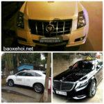 Xôn xao Cadillac, Mercedes S400, Lexus làm xe taxi ở Phú Thọ
