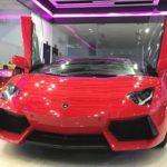 Dàn siêu xe khủng nhiều màu sắc xuất hiện trên phố Sài Gòn