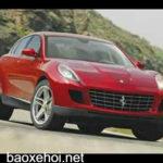 Loạt ảnh dự đoán kiểu dáng siêu xe Ferrari SUV gầm cao