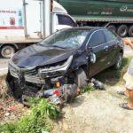 Xe Toyota Altis mới cứng đâm nát xe Honda Cub ở Thái Nguyên