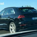 Xe sang Audi Q8 đầu tiên xuất hiện ngoài đường trên thế giới