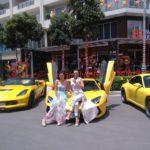 Ngắm dàn siêu xe tuyệt đẹp của đại gia Sài Gòn xuất hiện cùng lúc