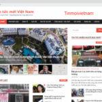 Tinmoivietnam.net thay giao diện hoàn toàn mới