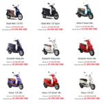 Baoxehoi.net ra mắt chuyên mục Bảng giá xe máy Việt Nam