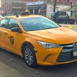 Ở xứ người Toyota Camry làm xe taxi phổ biến