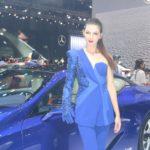 """Ngất ngây dàn chân dài """"siêu xinh"""" tại triển lãm ô tô Việt Nam VMS 2017"""