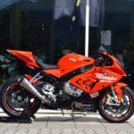 Siêu xe mô tô tiền tỷ BMW S1000RR màu da cam về Việt Nam