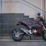 Đã mắt ngắm Honda MSX 125cc độ cực khủng của dân chơi Hà Thành