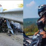 Nữ Biker xinh đẹp chết vì tai nạn siêu mô tô