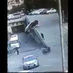 Người phụ nữ may mắn thoát chết trong gang tấc