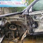 Toyota Land Cruiser giá 3 tỷ bị tai nạn nặng nề ở Hà Giang