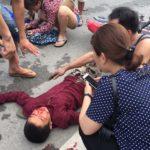 Thanh niên đi ngược chiều bị tai nạn ở Quảng Ninh ?