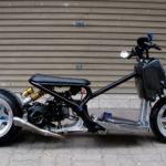 Honda Zommer X bản carbon của thiếu gia Hà Nội