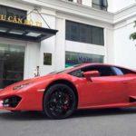 Ấn tượng siêu xe Lamborghini Huracan độc nhất Hà Nội nẹt pô trên phố