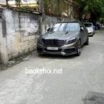 Xe sang Mercedes S500 độ đen nhám cực ngầu ở Sài Gòn