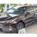 Toyota Corolla Altis 2017 mới ra mắt ở Malaysia