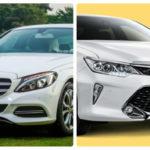 Có 1,5 tỷ đồng mua Camry nhập hay Mercedes C200 tốt hơn ?