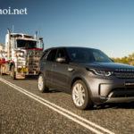 Land rover Discovery 2017 lập kỷ lục kéo xe nặng 110 tấn
