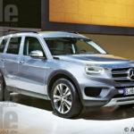 Năm 2019 sẽ có xe Mercedes-Benz GLS hoàn toàn mới ?