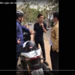 Tên cướp xe máy SH bị hiệp sĩ đường phố đấm khi đang trình bày