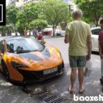 Người dân phản ứng thế nào khi thấy McLaren 650S Spider ở Sài Gòn ?