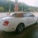 Bentley continental mui trần đầu tiên tại Việt Nam giờ ra sao ?