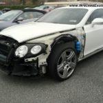 Xót của những xe siêu sang Bentley chục tỷ tai nạn nát đầu