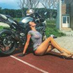 Vẻ đẹp nữ Biker xinh đẹp Olga Pronina trước khi chết